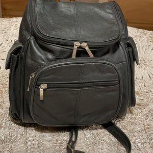VTG leather knapsack